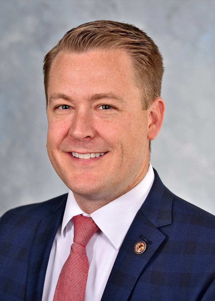 Illinois State Representative C.D. Davidsmeyer Headshot